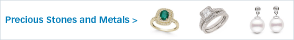 Compliment your product offerings with precious stones and metals!