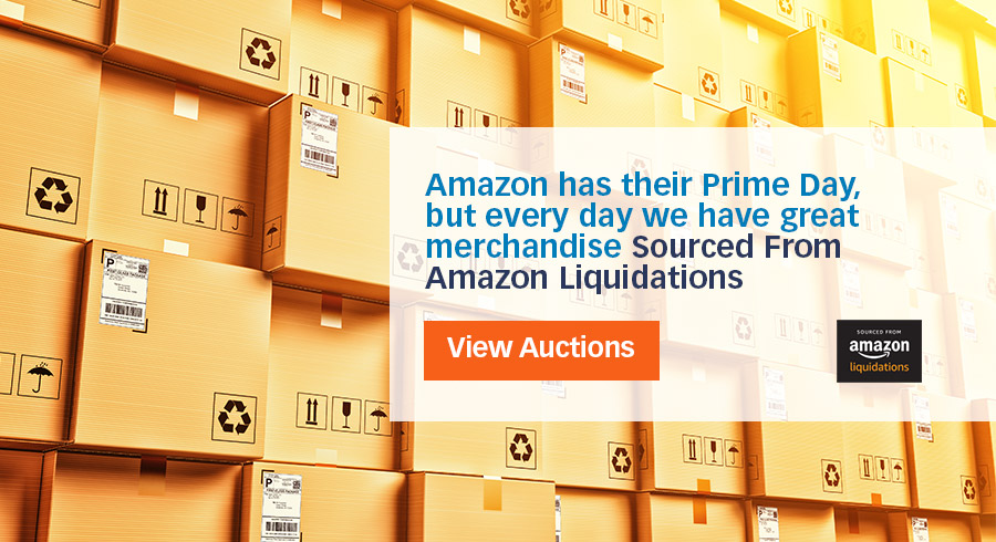 Amazon has their Prime Day, but every day Liquidation.com has great merchandise Sourced From Amazon Liquidations!
