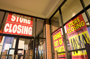 The rise of online sales has been taking its toll on brick and mortar stores, with 2017 seeing retailers filing bankruptcy at a record rate. When these stores close in your market, you can score a lot of merchandise at a deep discount.