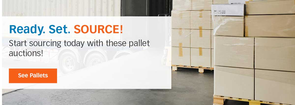 Source pallets today!
