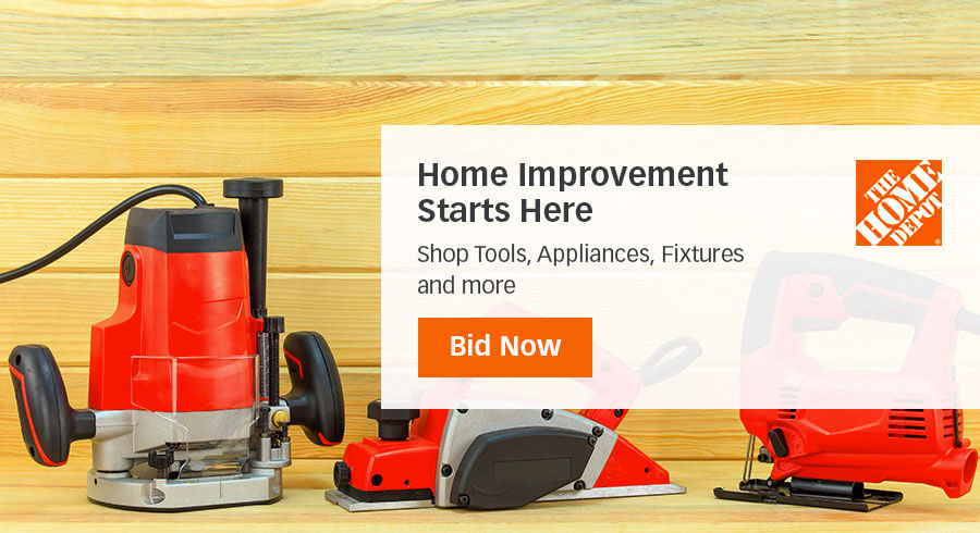 Home Depot Store ad Online Returns on Liquidation.com!