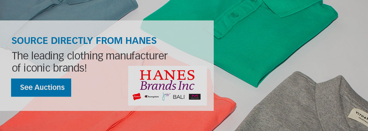 Source directly from the leading clothing manufacturer of iconic brands including Hanes, Champion, Bali, Maidenform, Just My Size, and more!