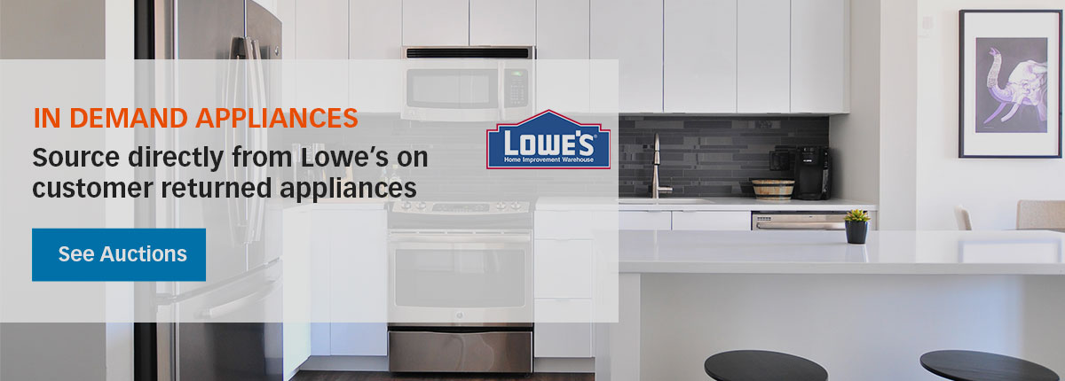 Sourced from Lowes – find the appliances you need!